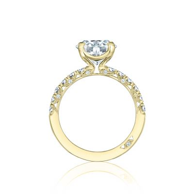 Tacori HT254525RD9-Y Yellow Gold Round Engagement Ring side