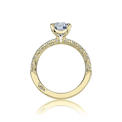 Tacori HT2545RD75Y Yellow Gold Round Engagement Ring side