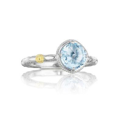 Simple blue topaz ring SR13402