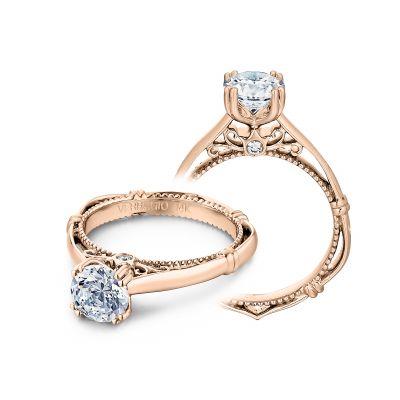 Verragio Parisian 120 Round Rose Gold Engagement Ring